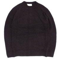 soglia ソリア|LANDNOAH Sweater (ダークブラウン)(ランドノアセーター)