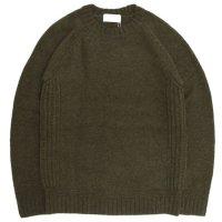 soglia ソリア|LANDNOAH Sweater (カーキ)(ランドノアセーター)