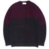 soglia ソリア|LANDNOAH Sweater (ワイン/ダークブラウン)(ランドノアセーター)