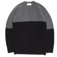 soglia ソリア|LANDNOAH Sweater (グレイ/ブラック)(ランドノアセーター)
