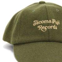 TACOMA FUJI RECORDS タコマフジレコード|TACOMA FUJI CURSIVE LOGO CAP (ダークグリーン)(キャップ)