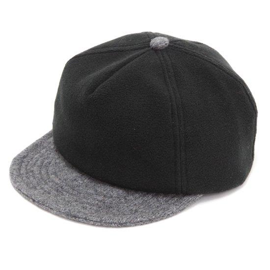 Phatee ファティ|PHAT CAP (フリースブラック)(ファットキャップ)