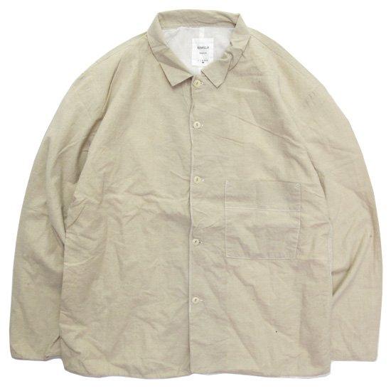 remilla レミーラ アーカイブ H25 ローンシャンブレーシャツ (ライトサンド)(シャツ)