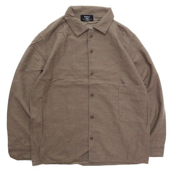 remilla レミーラ アーカイブ|H26 モカシャツ (モカ)(シャツ)