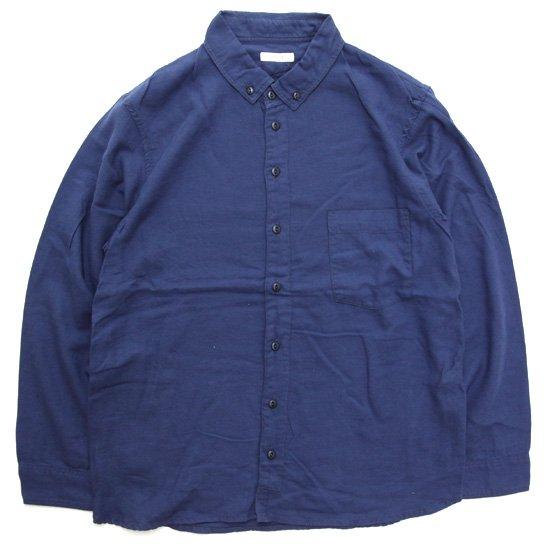 remilla レミーラ アーカイブ|H27 ヨークシャツ (ブルー)(ボタンダウンシャツ)