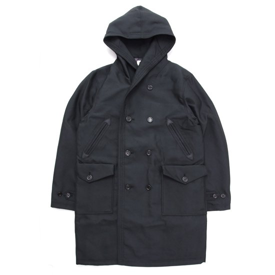 Jackman ジャックマン|JM8751 Spectator Coat (ブラック)(スペクテーターコート)