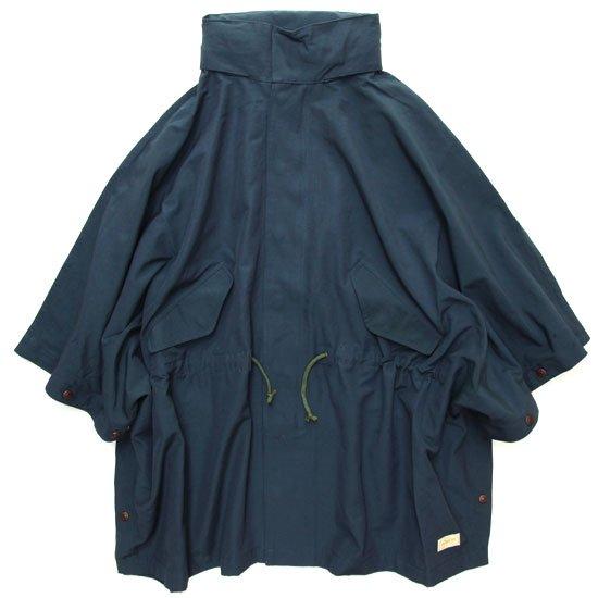 GO WEST ゴーウェスト|60/40 CLOTH WOOD STOCK JACKET (ネイビー)(ポンチョ)