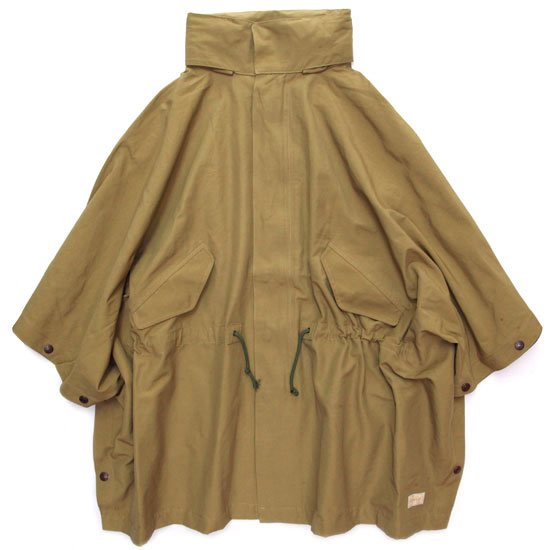 GO WEST ゴーウェスト|60/40 CLOTH WOOD STOCK JACKET (キャメル)(ポンチョ)