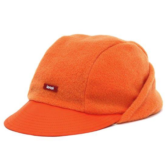 ionoi イオノイ PERITO CAP (オレンジ)(フリース キャップ)