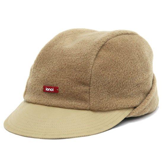 ionoi イオノイ|PERITO CAP (キャメル)(フリース キャップ)
