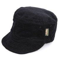 Phatee ファティ|HALF CAP CORD (ブラック)(ハーフキャップ コーデュロイ)