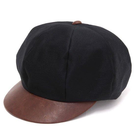 Nasngwam ナスングワム|REVE別注 WAITS CAP (ブラック)(キャスケット)