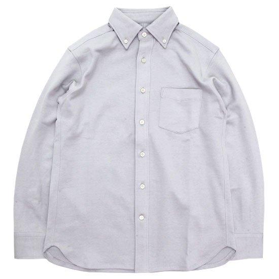 SPINNER BAIT スピナーベイト|エイタ コットンツイスト L/S シャツ (グレイ)(長袖シャツ)