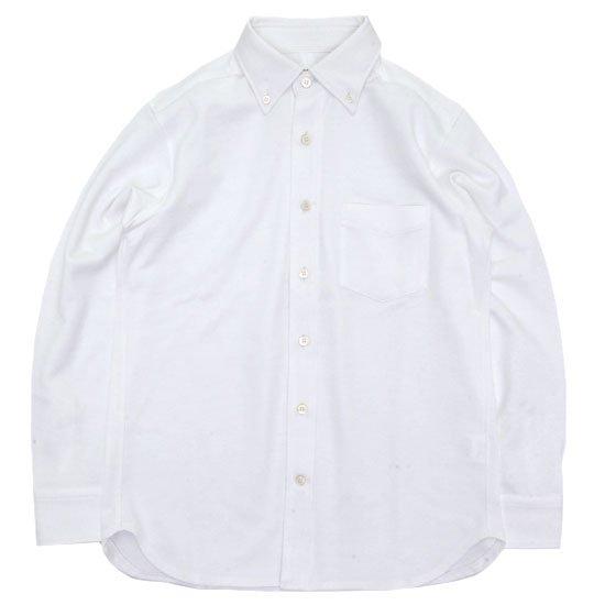 SPINNER BAIT スピナーベイト|エイタ コットンツイスト L/S シャツ (ホワイト)(長袖シャツ)