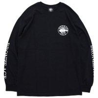 BRONZE AGE ブロンズエイジ|ROUND FISH L/S TEE (ブラック)(ラウンドフィッシュ ロンTEE)