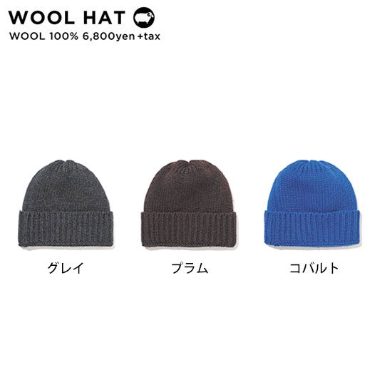 GREEN CLOTHING グリーンクロージング|19-20 WOOL HAT (ニット帽)