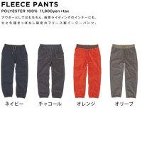 GREEN CLOTHING グリーンクロージング【予約商品】10月中旬〜10月下旬入荷予定|19-20 FLEECE PANTS (フリースパンツ)