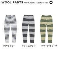 GREEN CLOTHING グリーンクロージング【予約商品】10月中旬〜10月下旬入荷予定|19-20 WOOL PANTS (メリノウール ファーストレイヤー)