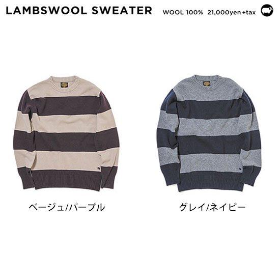 GREEN CLOTHING グリーンクロージング|19-20 LAMBSWOOL SWEATER (ラムウールセーター)