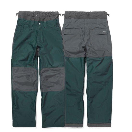 GREEN CLOTHING グリーンクロージング|19-20 WORK PANTS (グリーン)(ワークパンツ)