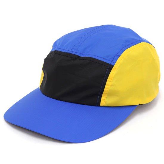 Nasngwam ナスングワム EMIT CAP (ブルー)(配色ジェットキャップ)