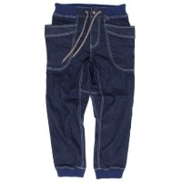 GO HEMP ゴーヘンプ|VENDER RIB PANTS INDIGO (ワンウォッシュ)(ベンダーリブパンツ)