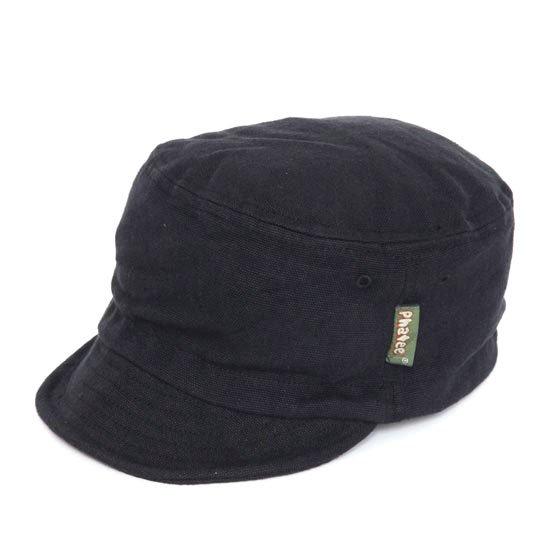 Phatee ファティ|HALF CAP (ブラックキャンバス)(ハーフキャップ)