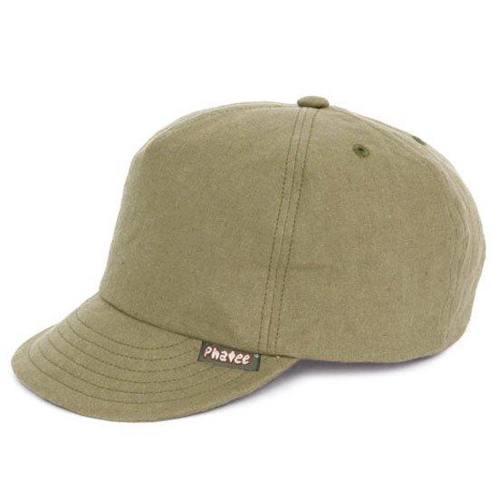Phatee ファティ|HEMP CAP (ベージュフラット)(ヘンプキャップ)