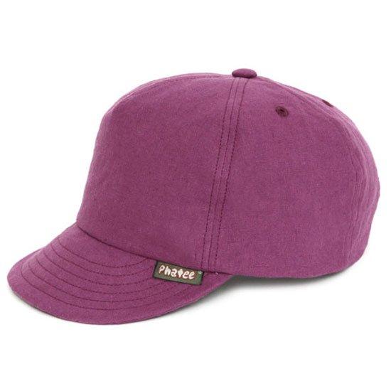 Phatee ファティ|HEMP CAP (パープルフラット)(ヘンプキャップ)
