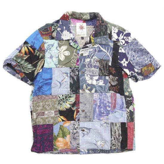 Nasngwam ナスングワム|ALOHA S/S SHIRTS (L-2)(リメイク アロハシャツ)