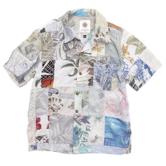 Nasngwam ナスングワム|ALOHA S/S SHIRTS (M-1)(リメイク アロハシャツ)