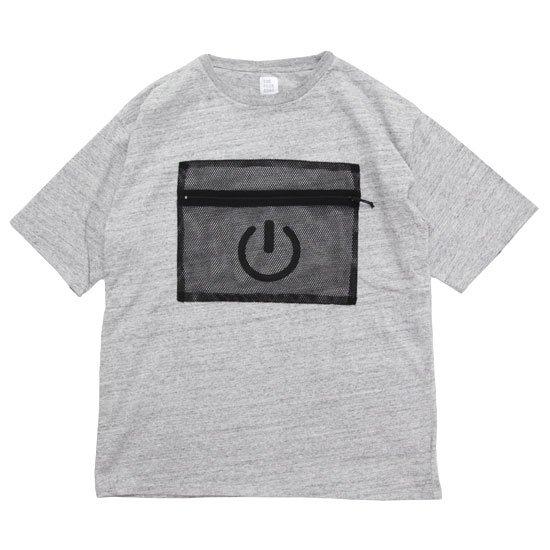 THE PARK SHOP ザ パークショップ GADGET POCKET TEE (グレイ)(Tシャツ)