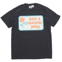 GO WEST ゴーウェスト|GRATEFUL DAY T-SHIRT (ブラック)(プリントTEE)
