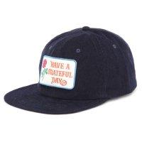 GO WEST ゴーウェスト|GRATEFUL DAY CORDUROY CAP (ネイビー)(キャップ)