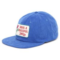 GO WEST ゴーウェスト|GRATEFUL DAY CORDUROY CAP (ロイヤルブルー)(キャップ)