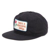 GO WEST ゴーウェスト|GRATEFUL DAY CAP (ブラック)(キャップ)