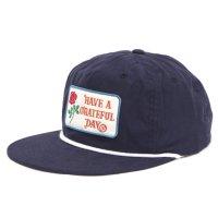 GO WEST ゴーウェスト|GRATEFUL DAY CAP (ネイビー)(キャップ)