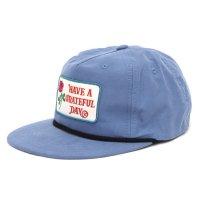 GO WEST ゴーウェスト|GRATEFUL DAY CAP (ブルーグレイ)(キャップ)