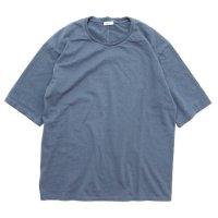 remilla レミーラ|BD五分Tee (チャコールブルー)(五分袖Tシャツ)