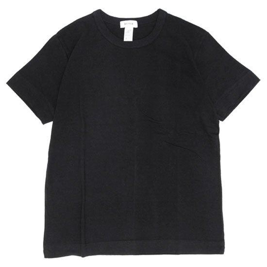 BETTER ベター MID WEIGHT CREW NECK TEE (ブラック)(無地TEE)