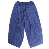 ORDINARY FITS オーディナリーフィッツ|レディース BALL PANTS (ブルー)(ボールパンツ)