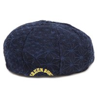 GO HEMP ゴーヘンプ|GREEN RUSH BERET (コラージュ)(ベレー帽)