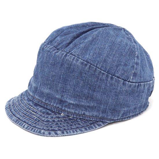 remilla レミーラ|ダイド帽 (インディゴ)(ワークキャップ)