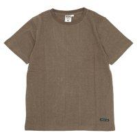 A HOPE HEMP アホープヘンプ|Regular S/S Tee (スクートブラウン)(ヘンプコットン Tシャツ)