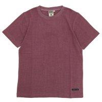 A HOPE HEMP アホープヘンプ|Regular S/S Tee (バーガンディ)(ヘンプコットン Tシャツ)