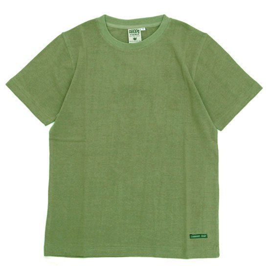 A HOPE HEMP アホープヘンプ|Regular S/S Tee (モンスーン)(ヘンプコットン Tシャツ)