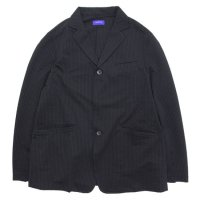SPINNER BAIT スピナーベイト|シアサッカー ストレッチジャケット (ブラック)(イージージャケット)