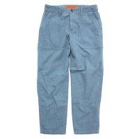 GO WEST ゴーウェスト|LOOSE OX BASIC BAKER PANTS (ブルー)(ベイカーパンツ)