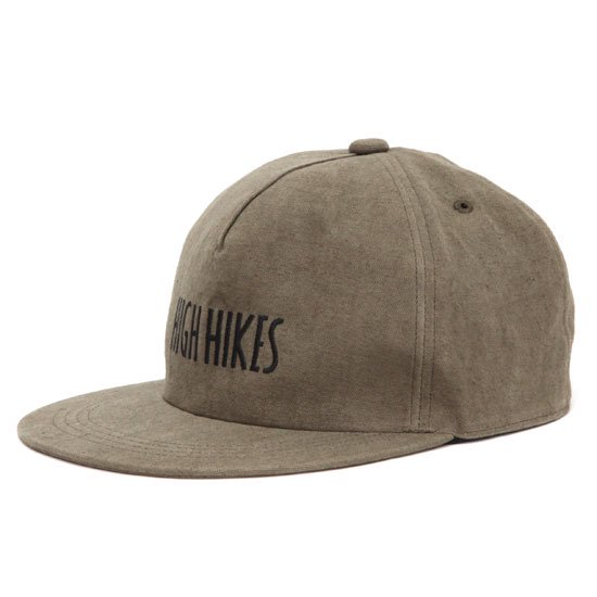 GO WEST ゴーウェスト|LOOSE OX HIGH HIKES CAP (コーヒー)(ハイハイクス キャップ)