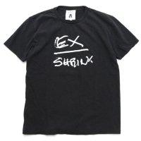 TACOMA FUJI RECORDS タコマフジレコード|EX SHRINK FULL PRICE TEE (ブラック)(プリントTシャツ)